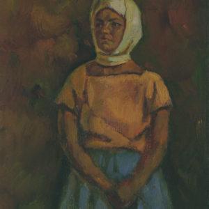 Девушка в косынке