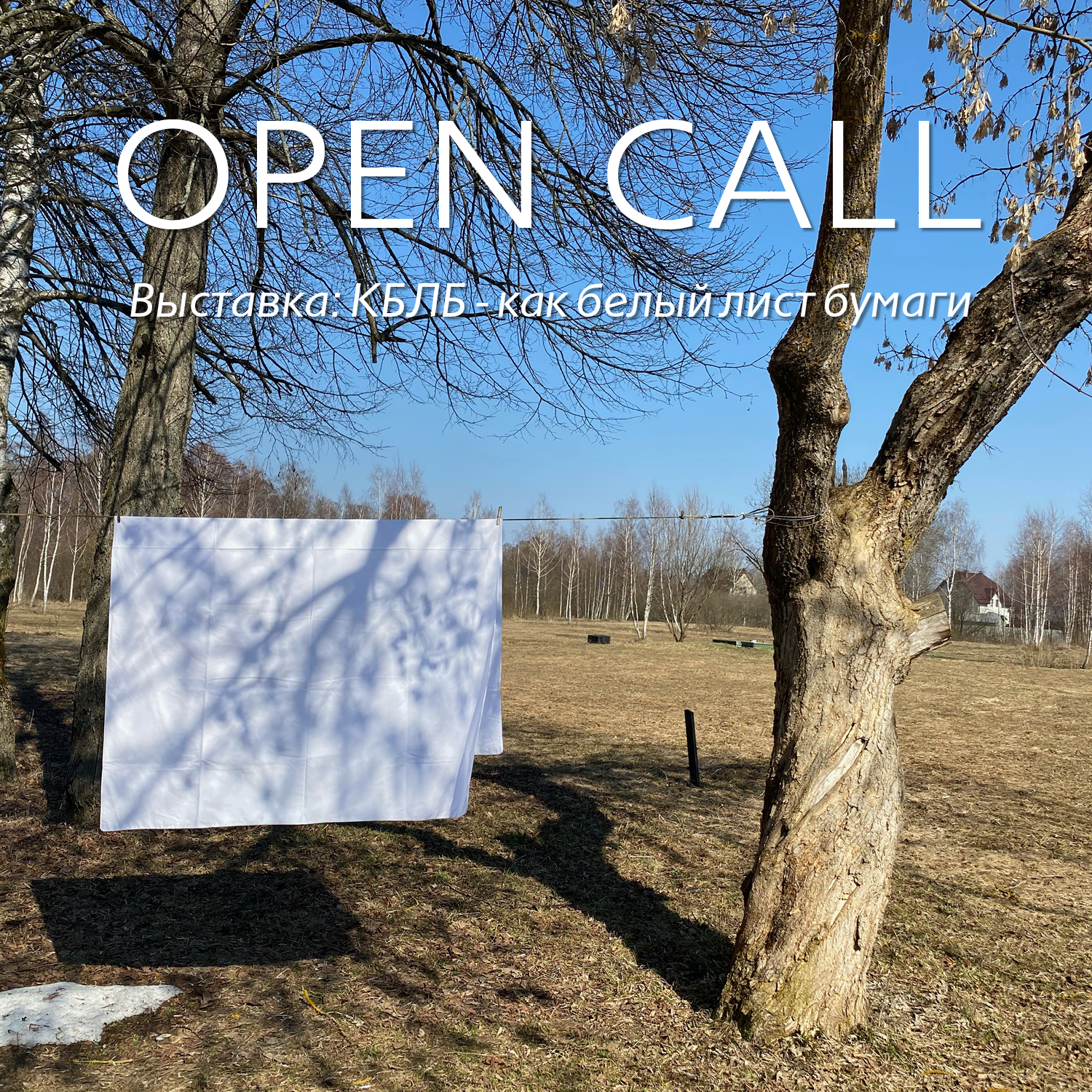 ARTISTIC OPEN CALL!
